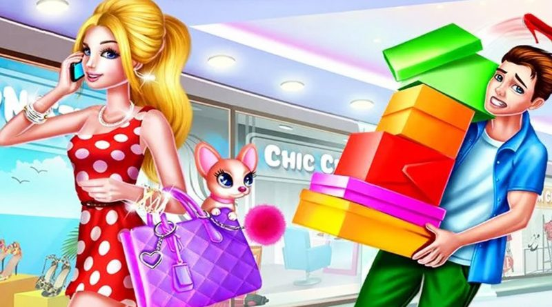 Shopping Games For Girls to Play - Shopping Mall Girl - Make Up & Dress Up Games - Fun Girls Games